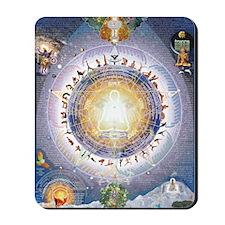 Universal Yoga Mandala Mousepad