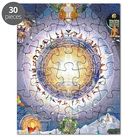 Universal Yoga Mandala Puzzle