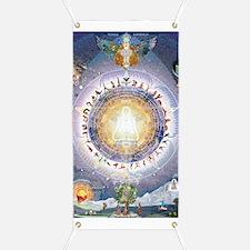 Universal Yoga Mandala Banner