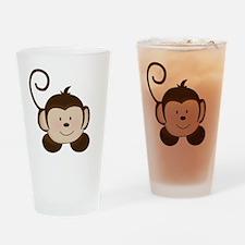 Pop Mod Monkey Drinking Glass