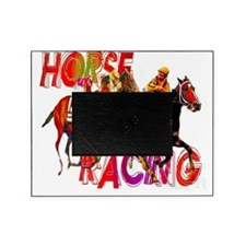 horse racing 3 Picture Frame