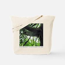 create serenity tree Tote Bag