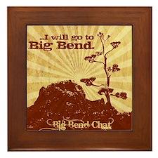 I will go to Big Bend Framed Tile