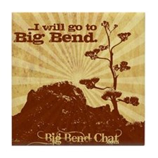 I will go to Big Bend Tile Coaster