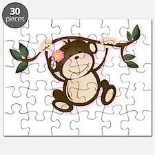 Monkey Play Girl Monkeys Puzzle