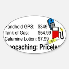 Geocaching Priceless Decal