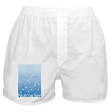 NutcrackerSnowflakesHR Boxer Shorts