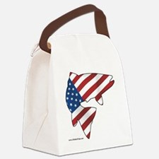 flag trout 1 Canvas Lunch Bag