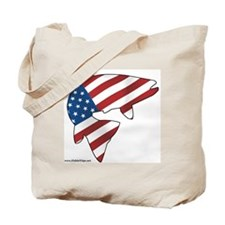 flag trout 1 Tote Bag