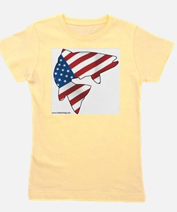 flag trout 1 Girl's Tee