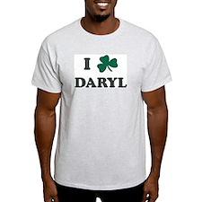 I Shamrock DARYL Ash Grey T-Shirt