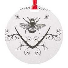 bumble_bee_brown Ornament