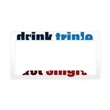 drinktriple License Plate Holder