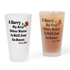 A Barry4x4 Drinking Glass