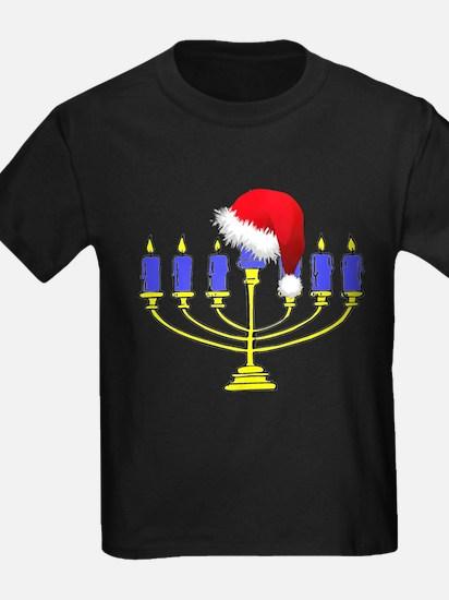 Christmas Menorah T