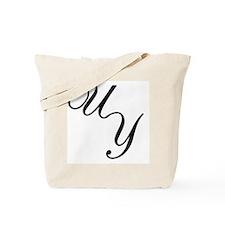 Cursive Logo Tote Bag