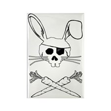 bunnypirate Rectangle Magnet