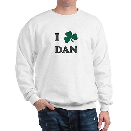 I Shamrock DAN Sweatshirt