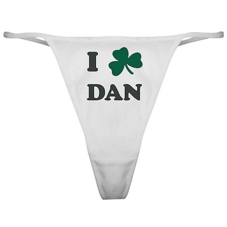 I Shamrock DAN Classic Thong