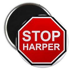 STOP HARPER Magnet