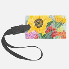 Courtneys Sunflower Luggage Tag