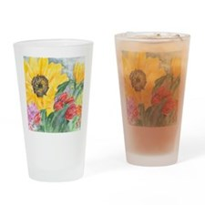 Courtneys Sunflower Drinking Glass