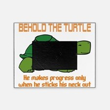 behold the turtle Picture Frame