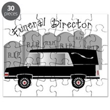 Funeral Director Hearse RIP Puzzle