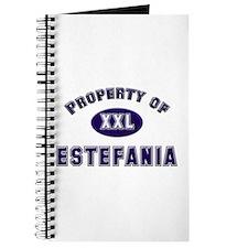Property of estefania Journal