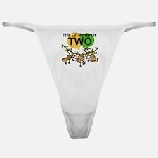 SWINGMONKEYSECOND Classic Thong