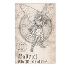 Archangel Gabriel Postcards (Package of 8)