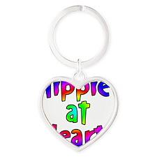 hippieheart Heart Keychain
