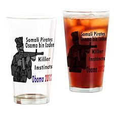 Killer Instincts2x2 Drinking Glass