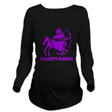 SAGITTARIUS1 Long Sleeve Maternity T-Shirt