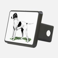 english pointer portrait Hitch Cover