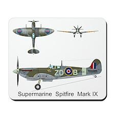 SpitfireMH434_Front Mousepad