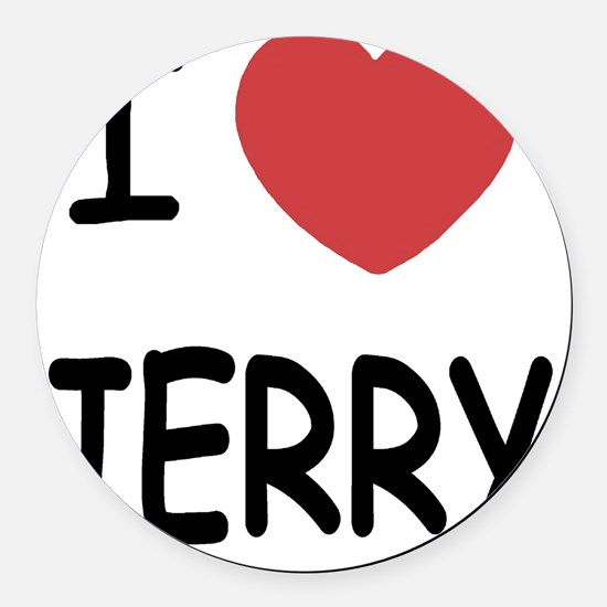 JERRY Round Car Magnet