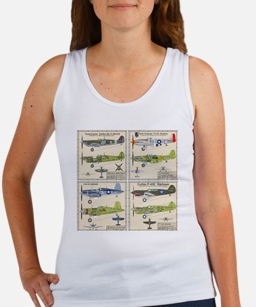 WWIIFighters_Back Women's Tank Top