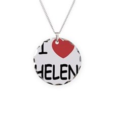 HELEN Necklace Circle Charm