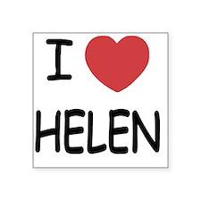 "HELEN Square Sticker 3"" x 3"""