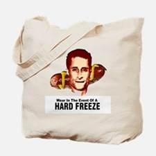 HardFreezeWarning12x12 Tote Bag