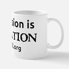mutilation_10x10_black_front Mug