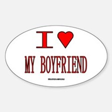 The Valentine's Day 12 Shop Oval Decal