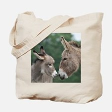Donkey clock Tote Bag