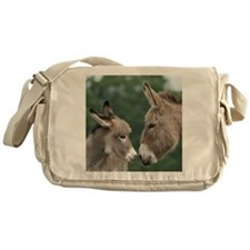 Donkey clock Messenger Bag