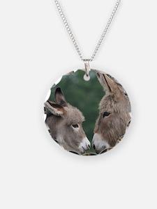 Donkey clock Necklace