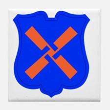 XII Corps Tile Coaster
