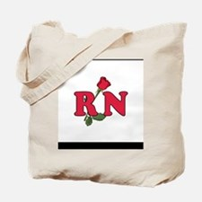 RN Nurse Rose Tote Bag