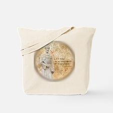 St Francis Vintage Tote Bag