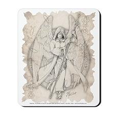 Archangel Raphael Mousepad